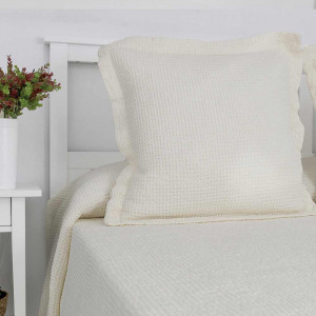 Colcha piqué 180x270cm cubrecama de algodón para cama 90cm