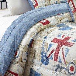 Edredón Conforter180x270 LONDON cama-90