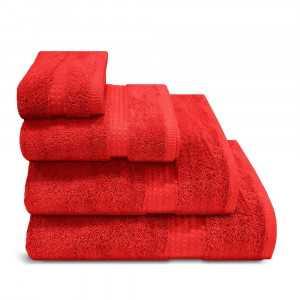 Toalla de baño 700gr Rojo