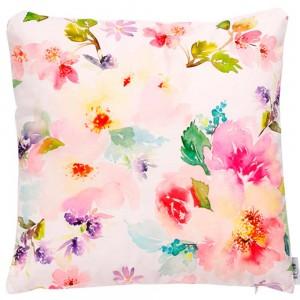 Cojín Flores Multicolor...
