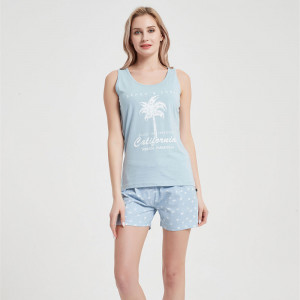 Pijama Corto Algodón Caribe...