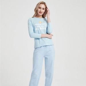 Pijama Largo Algodón Menos...