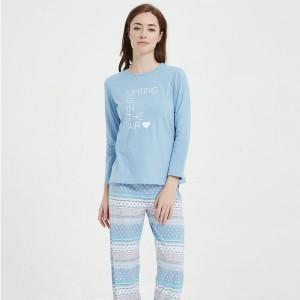 Pijama Largo Algodón Carmela