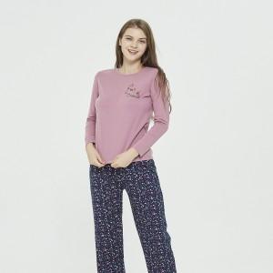 Pijama Largo Algodón  JUDITH