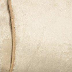 Couverture RACHEL beige mantas-sherpa