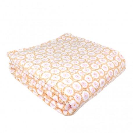 Manta coral LEMANS mantas-terciopelo
