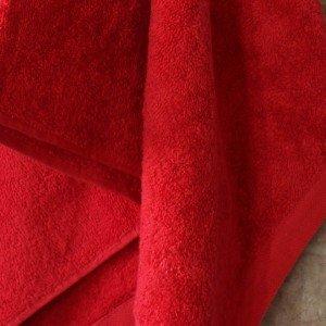 Toalha de baño MICAELA VERMELHO 550g