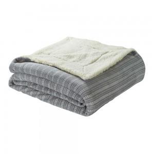 Manta Sherpa Maina gris