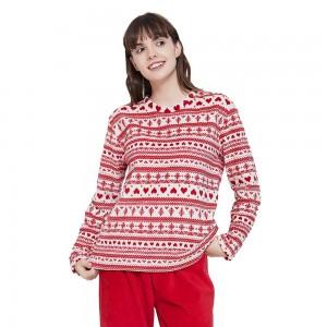 Pijama coral Cristina rojo