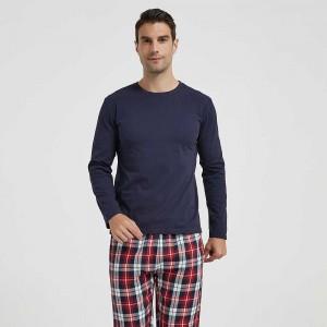 Pijama hombre franela...