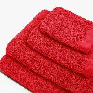 Toalha de baño 550g MICAELA VERMELHO