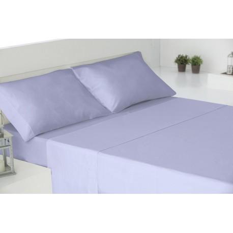 Juego de sábanas algodón 180 INDIGO parure-de-lit-au-coton