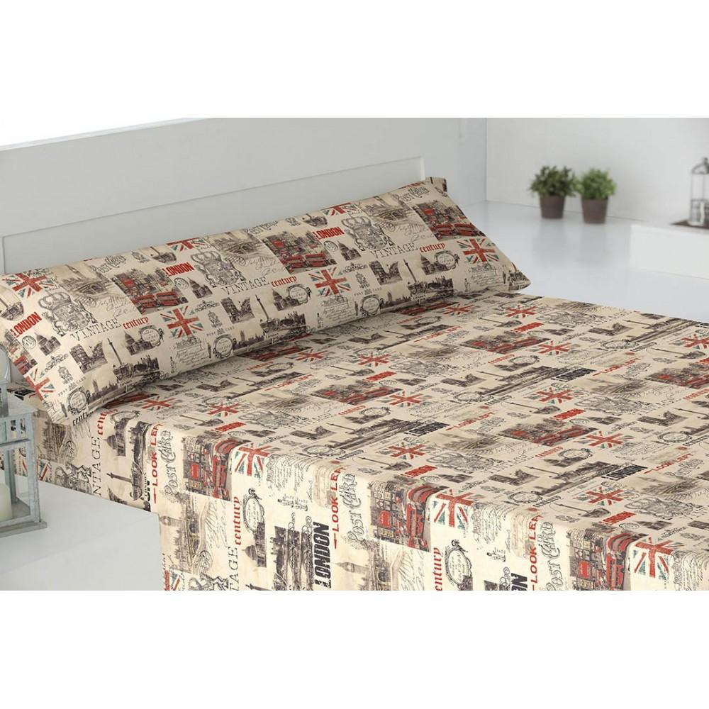 parure de lit 140 vintage. Black Bedroom Furniture Sets. Home Design Ideas