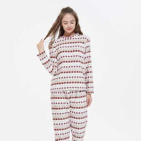 Pijama coral Elena pyjamas-coral