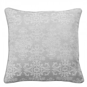 Coussin JACQUARD IGUAZU GRIS PERLA