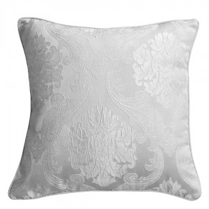 Coussin JACQUARD 55x50 ORINOCO GRIS PERLE
