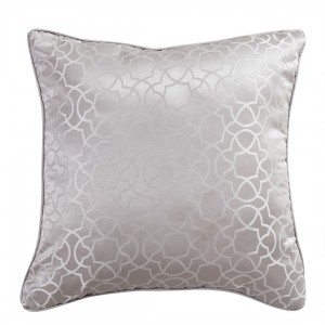 Coussin JACQUARD 55x50 MAYA GRIS PERLE