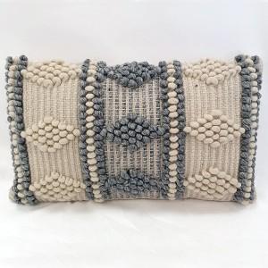 Cojín rectangular algodón...