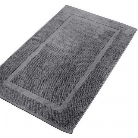 Alfombra de baño gris marengo 870gr alfombras-de-bano