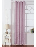 Cortina JACQUARD DAMASCO MALVA