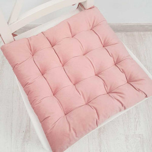 Cojín de silla 40x40 rosa...