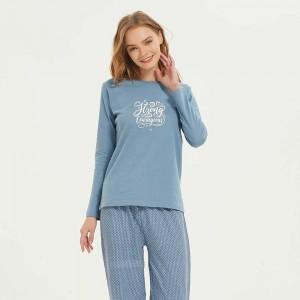 Pijama largo algodón Tango...
