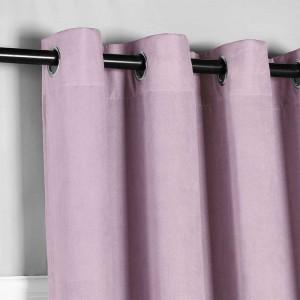 Cortina Ante rosa palo