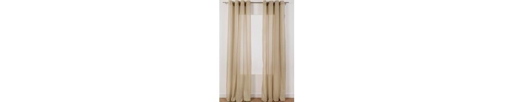Visillos y cortinas transl cidas baratas visillos y for Cortinas blancas baratas
