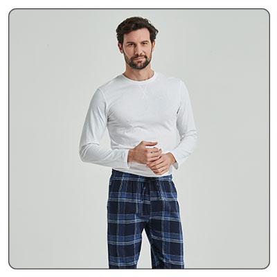 pijamas largos de hombre