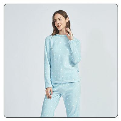 Pijamas de invierno de mujer