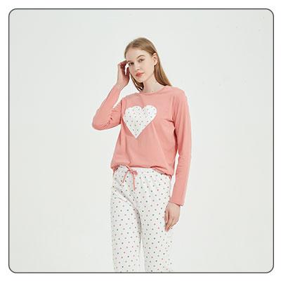 Pijamas largos de mujer