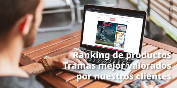Ranking de productos Tramas más valorados por nuestros clientes