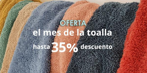 PROMOCIÓN FINALIZADA El mes de la toalla: Toallas Calidad Premium desde 1,50€