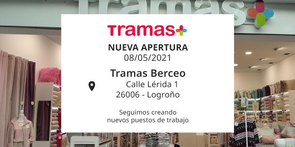 Nueva apertura en el centro comercial Berceo en la ciudad de Logroño