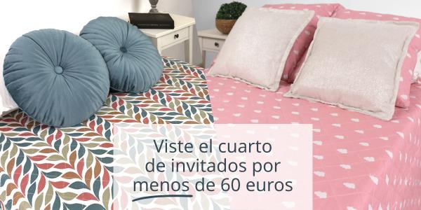 Viste el cuarto de invitados por menos de 60 euros