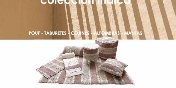 Nueva colección de textiles para el hogar con estilo étnico