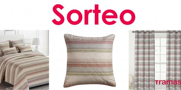 SORTEO TRAMAS Nueva colección de colchas, cojines y cortinas