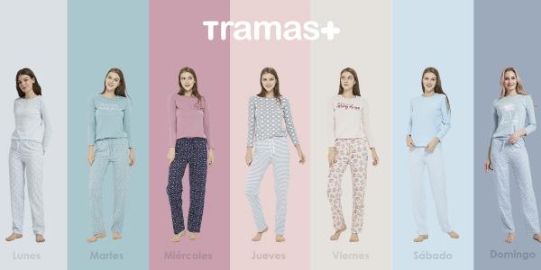 Un pijama para cada día de la semana: Disfruta de ser tu misma con Tramas