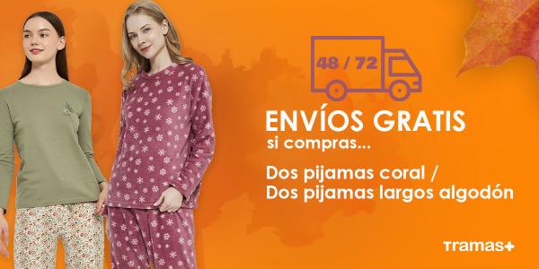 Autumn is coming y para celebrarlo… ¡Envío gratis por la compra de dos pijamas!